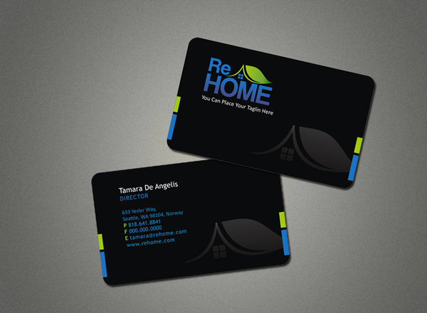 Cool Black Business Card