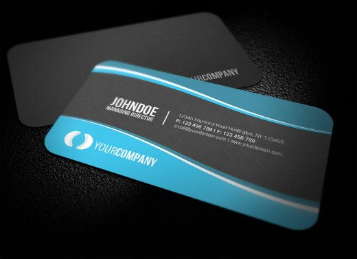20 Exceptionally Round Edge Business Cards WordPress Aisle