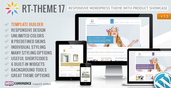 RT-Theme 17 Responsive Wordpress Theme