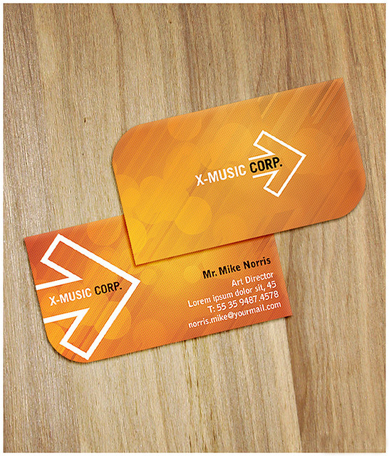 Sunset Business Card