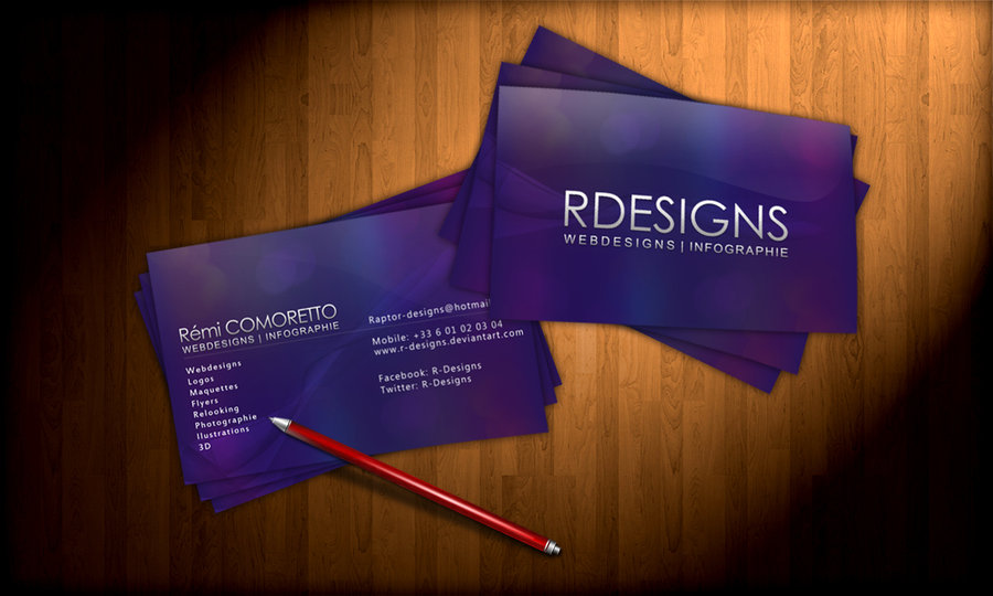 Business Card R-Designs