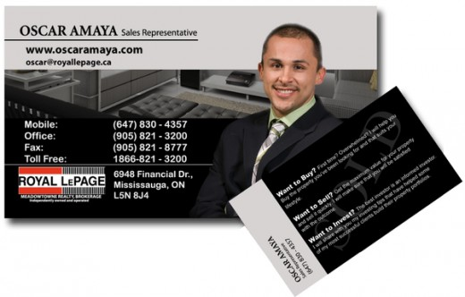 A Collection of Real Estate Business Cards Designs