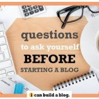 Questions to Ask Yourself Before Starting a Blog