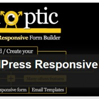 Synoptic WordPress Responsive Visual Form Builder Light