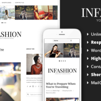 inFashion - Responsive WordPress Blog Theme