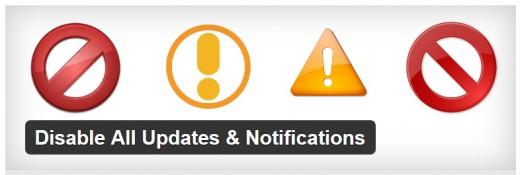 Disable All Updates & Notifications