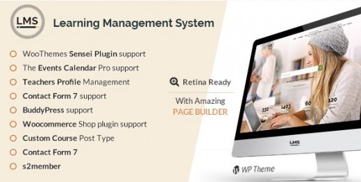 LMS - Responsive Learning Management System Theme