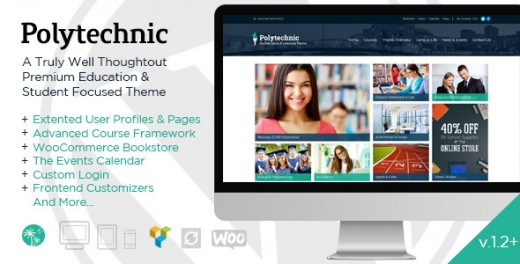 Polytechnic - Powerful Education, Courses & Events Theme